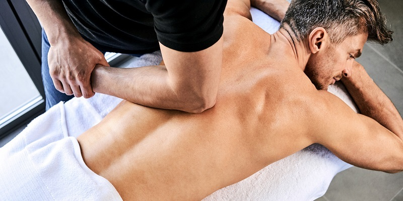 Health Tip for Men Over 50: Massage Therapy