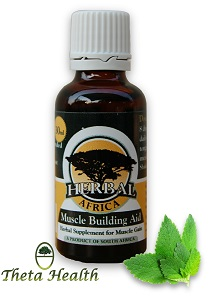 Muscle Building Aid Herbal Supplement