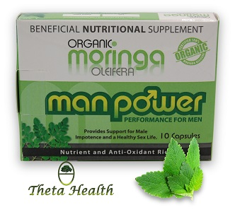 Moringa Manpower Natural Male Performance Supplement